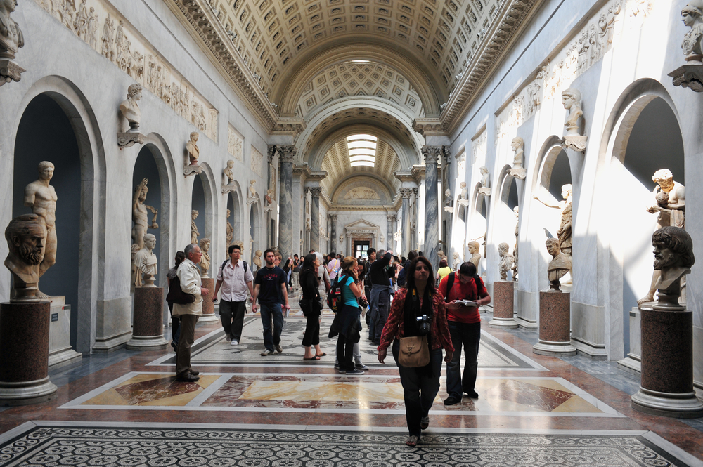 Vatican Museums hallway