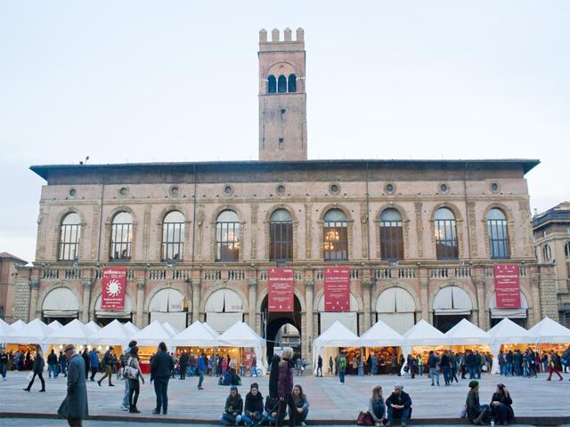 Chocolate Festival at Piazza Maggiore