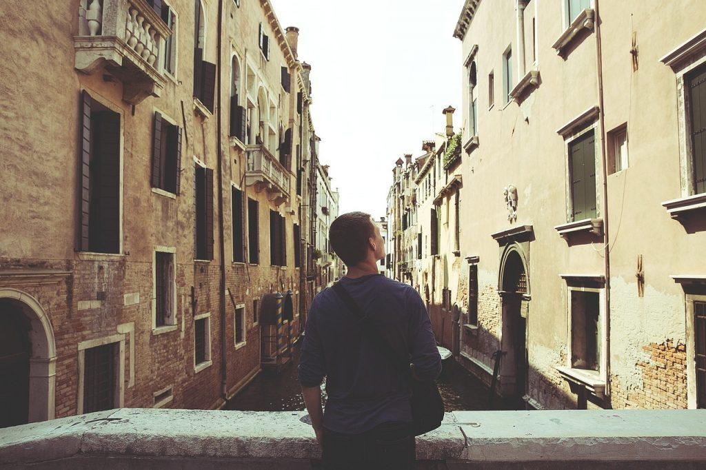 Exploring Italy Alone