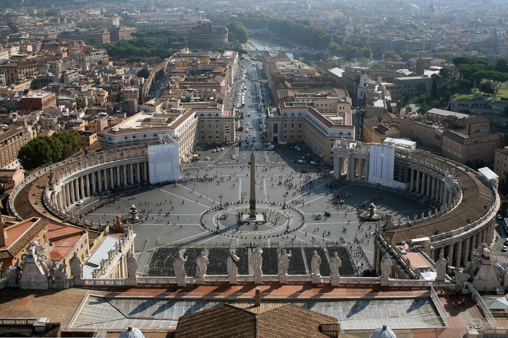 Saint Peter Square Vatican City Italy