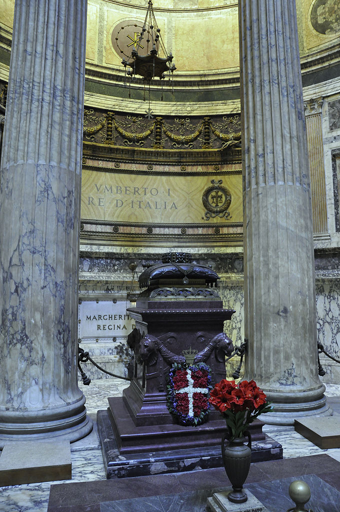 Tomb of Umberto I, Pantheon, Rome, Italy