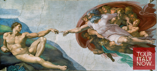 Creation of Adam Italian Art