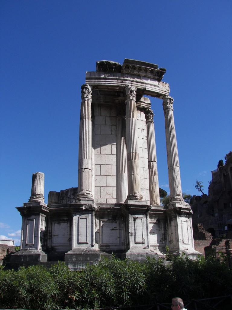 Temple of Vesta, Roman Forum, Rome, italy