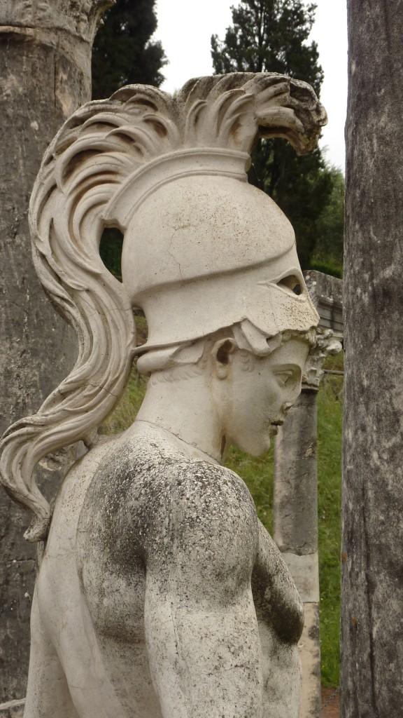 Hadrian's Villa Greek statue, Tivoli, Rome, Italy