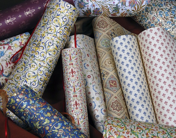 Wrapping Paper from Florence Italy | Tour Italy Now
