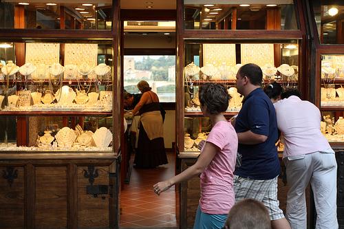 Jewelry Store, Ponte Vecchio, Florence, Italy