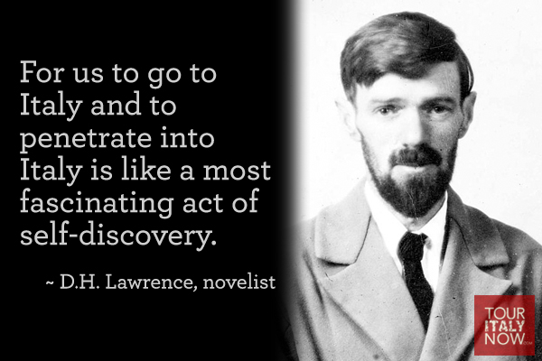 Italy quotes DH Lawrence