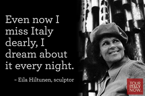 Italy quotes Eila Hiltunen
