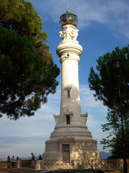 Faro di Roma manfredi lighthouse gianicolo rome