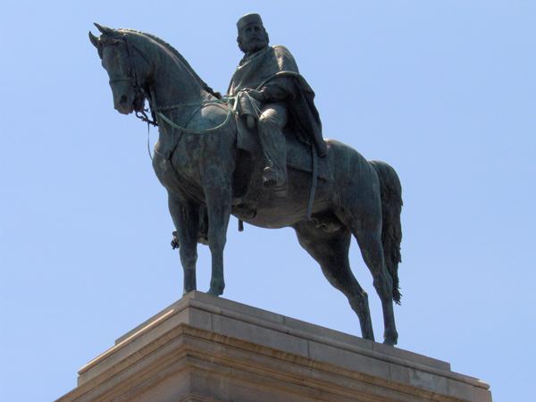 Gianicolo Rome Garibaldi monument