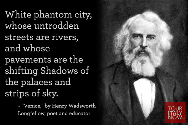 Italy quotes Henry Wadsworth Longfellow