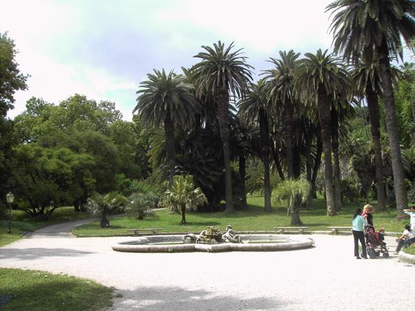 Orto botanico gianicolo rome