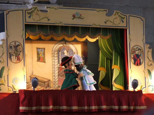Teatro dei burattini puppets Gianicolo Rome