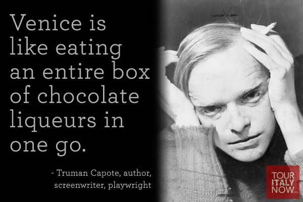 Italy quote Truman Capote