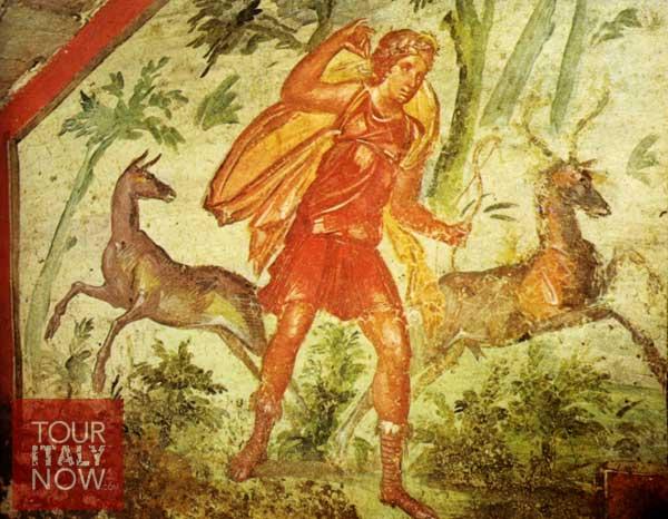 Roman Goddess Diana huntress
