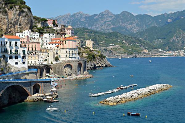 Atrani Amalfi Coast Campania Italy