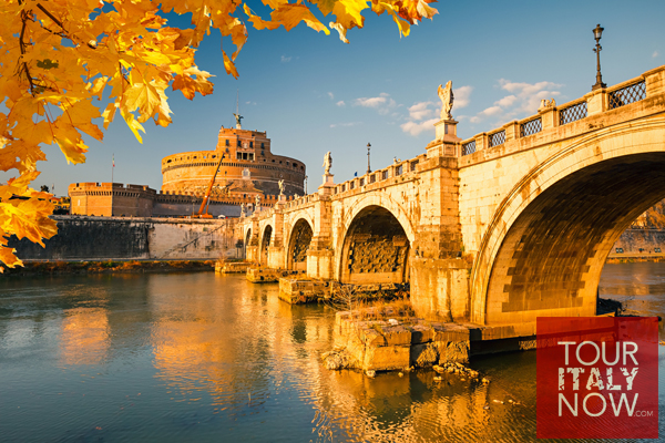 Autumn-Saint-Angel-Castle-Rome-italy