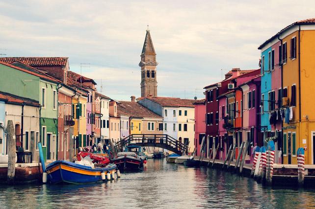 Burano Venice Italy - view of island