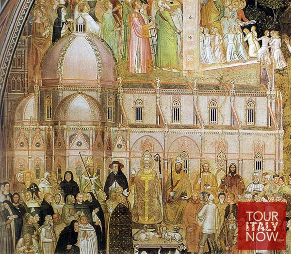 santa maria del fiore duomo florence italy - artwork detail