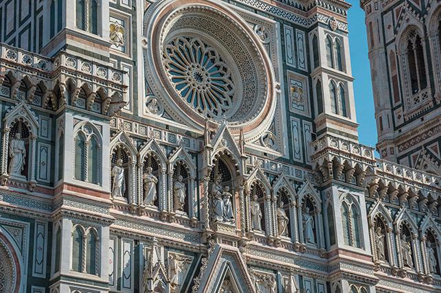 Santa Maria del Fiore Florence - front