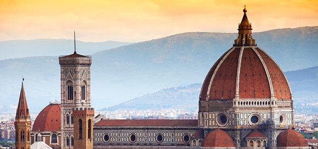 Santa Maria del Fiore Duomo Florence Italy - view exterior