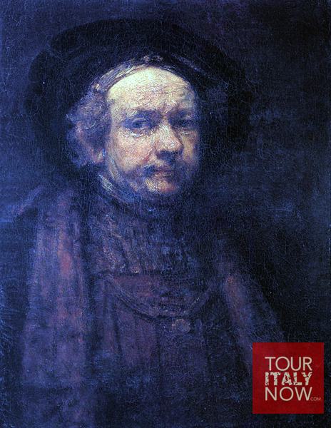uffizi gallery museum florence italy - rembrandt painting