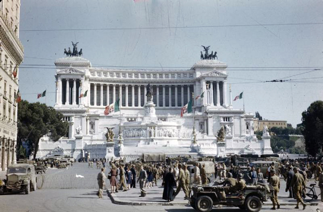 Allied Forces in Rome, Italy | Tour Italy Now