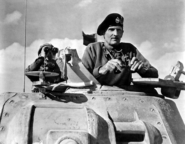 Field Marshal Bernard Montgomery  | Tour Italy Now