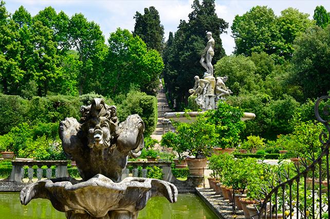 Boboli Gardens Florence Italy Fountain