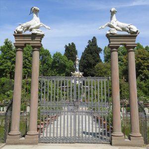 Boboli Gardens florence Italy Gate Capricorn