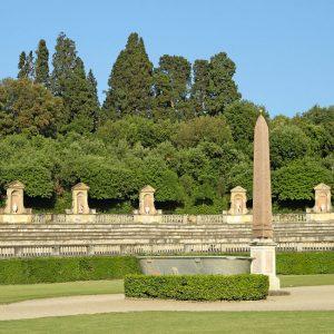 Boboli Gardens Florence Italy Obelisk