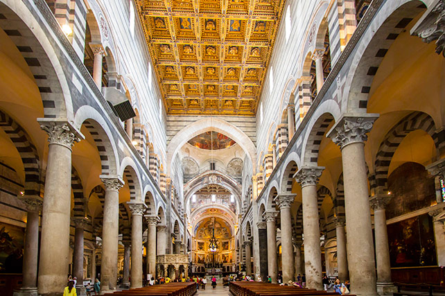 Duomo Pisa Italy Cathedral - interior