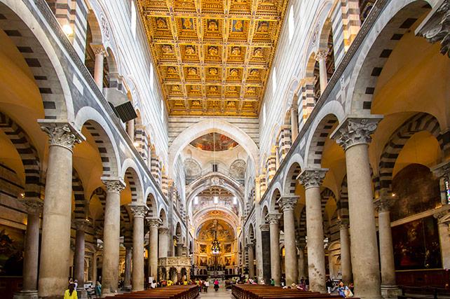 Duomo Pisa Italy Cathedral - interior