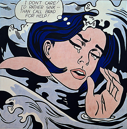 expo-torino-2015-Roy_Lichtenstein_Drowning_Girl