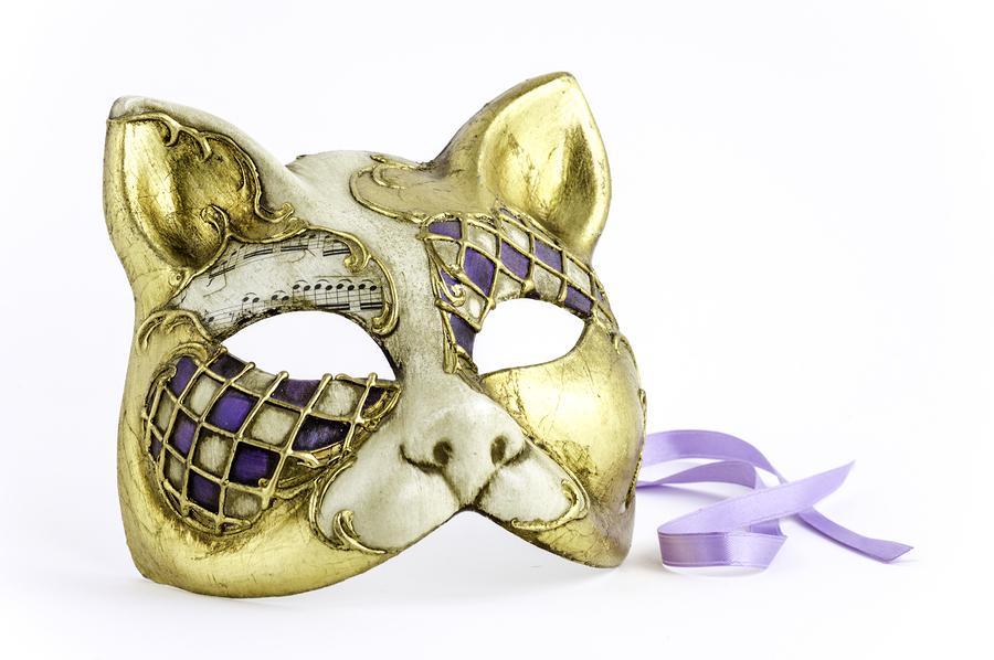 Venitian Cat Carnivale Mask | Tour Italy Now