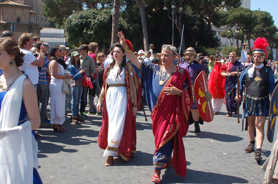 April 21, 2014, The Birth Of Rome