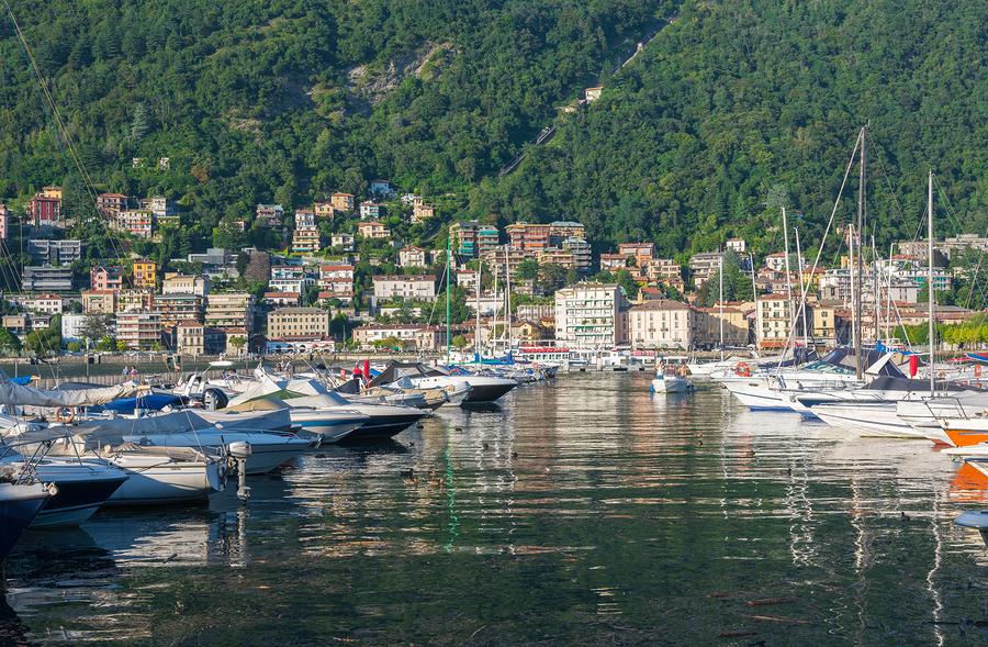 View Of Como - Italy