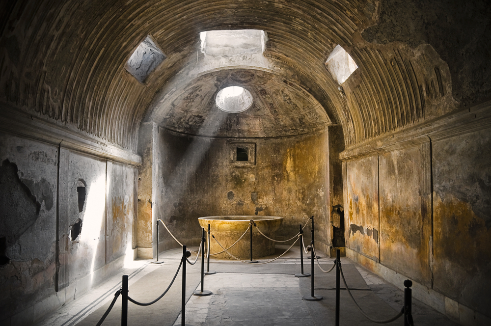 Remains of Public Baths, Pompeii