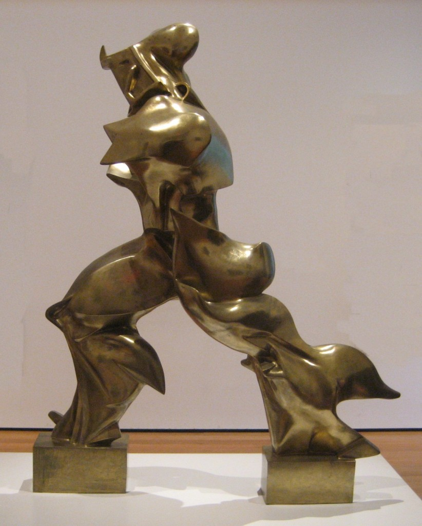 Unique Forms of Continuity in Space - Boccioni