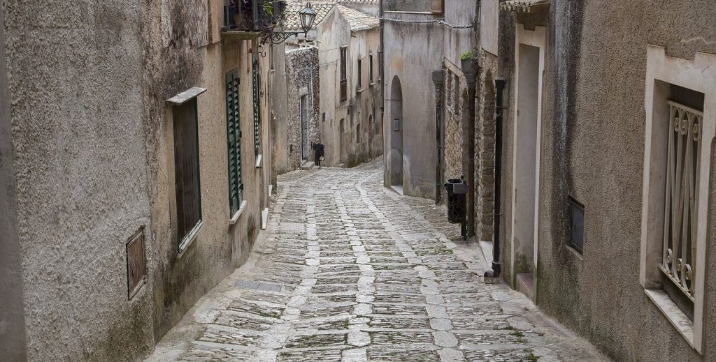 The Streets of Erice