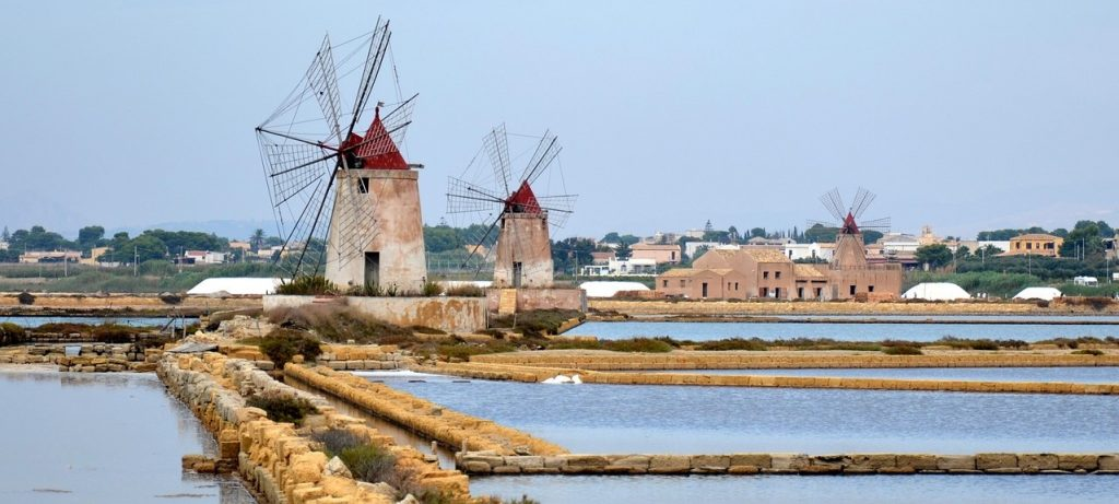 View of Marsala from a Distance