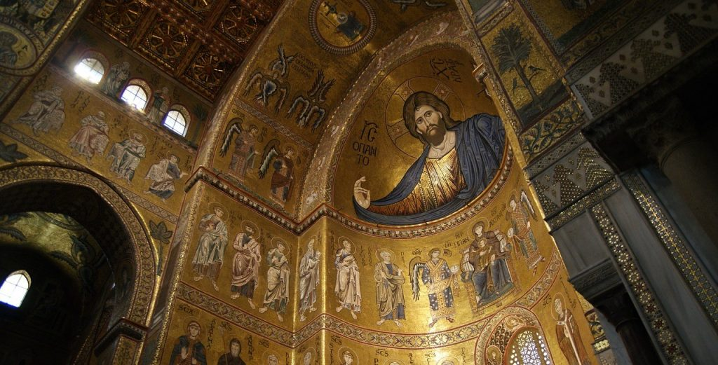 Mosaic in Monreale Cathedral
