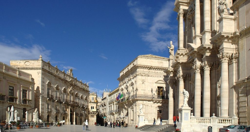 Piazza del Duomo Siracusa