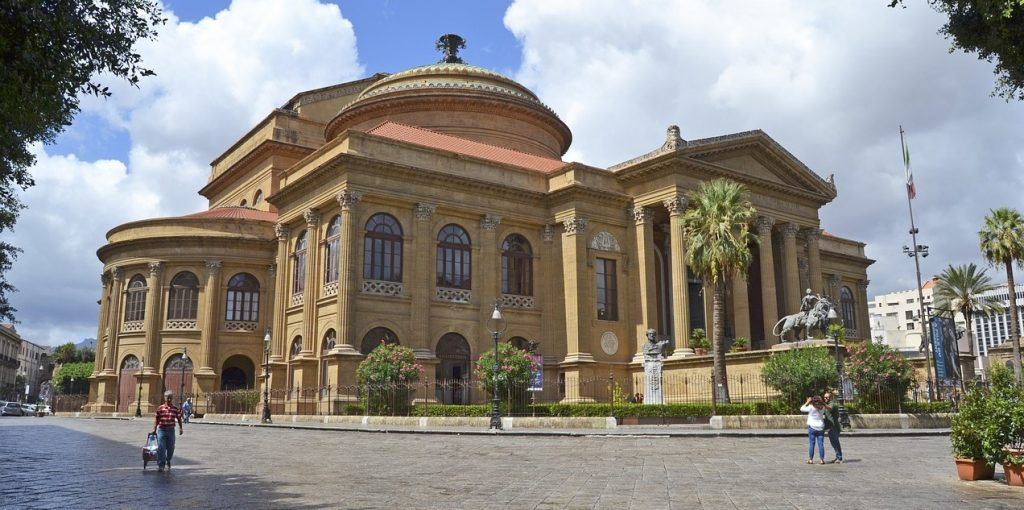 Teatro Massimo in Palermo Italy