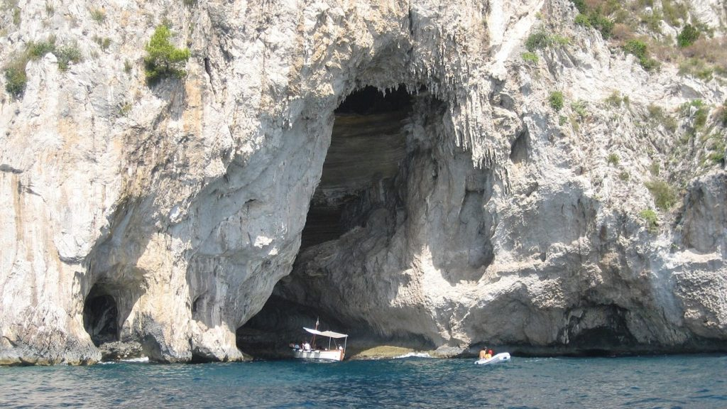 The Blue Grotto - Capri Island