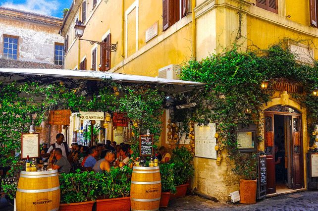 Most-visited-trattorias-in-rome | Tour Italy