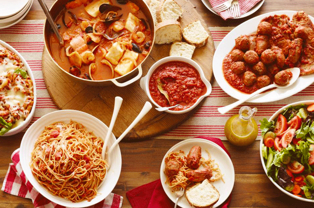Italian-Dishes-on-Table
