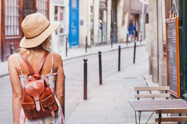 Solo Female Tourist in Italy