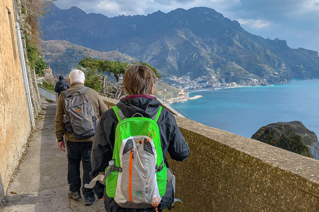 Ravello to Minori Hiking