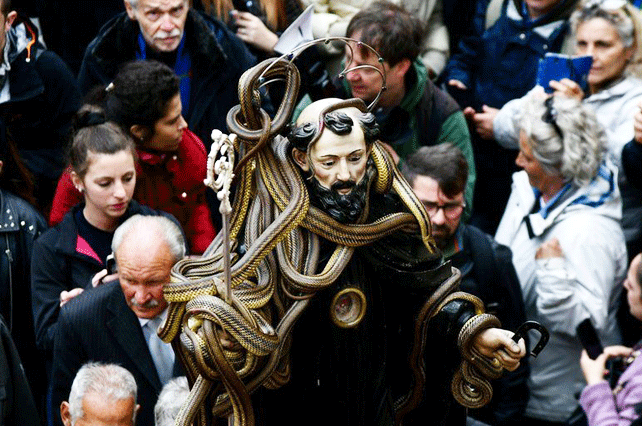 Snake-Handler-Procession-Cocullo